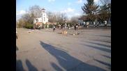 Кукери в с.могила 17.03.2013г.