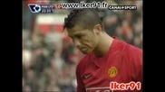 14.03 Манчестър Юнайтед - Ливърпул 1:4 Кристиано Роналдо гол