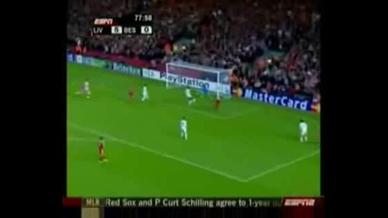 Top 15 Champions League goals 07 - 08