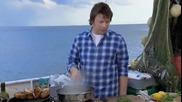 Миди със сметана - Jamie Oliver - Creamy Mussels