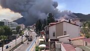 Turkey: Emergency ops ongoing as Marmaris wildfires force evacuations