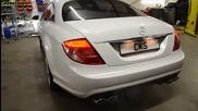 Mercedes Cl500 W216 Cks Sport exhaust