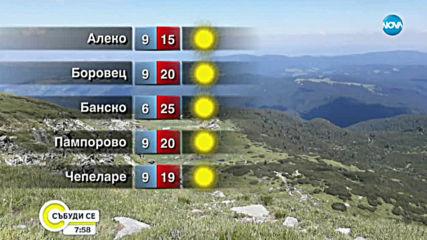 Прогноза за времето (20.10.2019 - сутрешна)