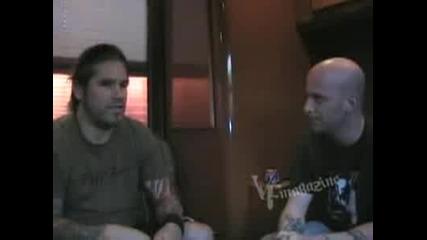 Machine Head - Interview for Vampirefreaks Magazine