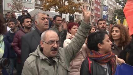 Властите разпръснаха протрестиращи със сълзотворен газ