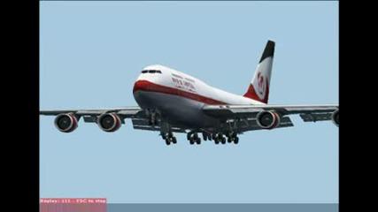 Boeing 747 И Къса Писта - Част 2