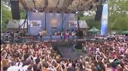 На живо!!! Demi Lovato and Joe Jonas в Добро утро Америка