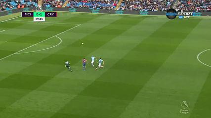 Манчестър Сити - Кристъл Палас 0:1 /първо полувреме/