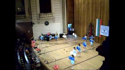 Мажоретките - Коледен концерт на 1. Аег 2009