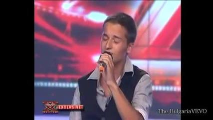 Неизлъчвано в X - Factor bulgaria Богомил Бонев