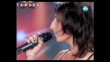 Тя харесва Тошко от екипа - X Factor (много смях)