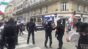 France: Clashes with police as protesters rally against newly-introduced COVID restrictions