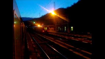 Надминаване на гара Елисейна