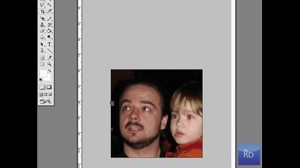 Премахване на червени очи от снимка с Ps Cs2 + подробни субтитри