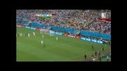 Мондиал 2014 - Сащ 0:1 Германия - Германия спечели групата, а Мюлер се залепи за Меси и Неймар!
