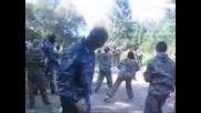 Тренировки по ножеви бой към Славянски съюз
