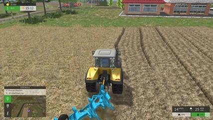 Вспашка поля - Прохождение Farm Expert 2016 Gameplay