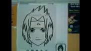 Как Да Нарисувате Sasuke