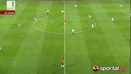 България - Армения 1:0 гол на Манолев !