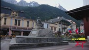 Danny Macaskill filming in Chamonix for Perfect Moment - Instant