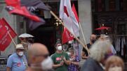 España: Manifestantes exigen ayuda del Ministerio de Exteriores para liberar a marinero español retenido en Yemen