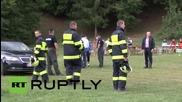 Словакия: Спасителна операция издирва оцелели след сблъсъка на двата самолета