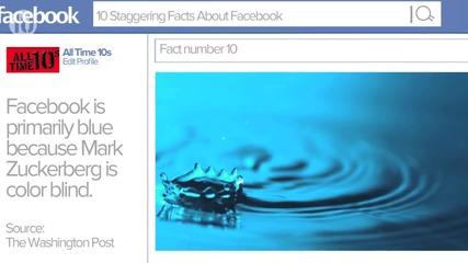 10 странни факта, които не знаете за Facebook