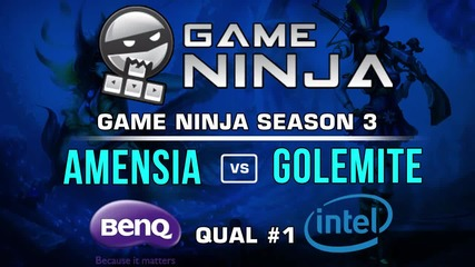 Game Ninja LoL #1 - Amnesia Haze vs Golemite raki