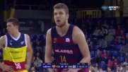 Силен Везенков при разгром на Барселона