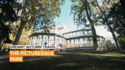 Dreamy Autumn Travel: Madrid's nearly 400-year-old park