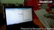 Работна процедура на Barcode Reader или скенер