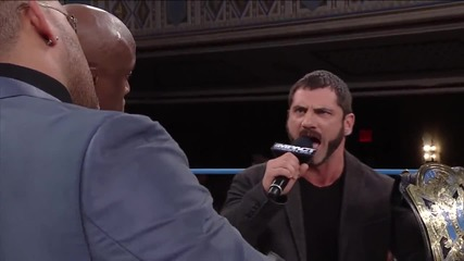 Will Austin Aries Use Option C and Get His World Heavyweight Title Shot (july 24, 2014)