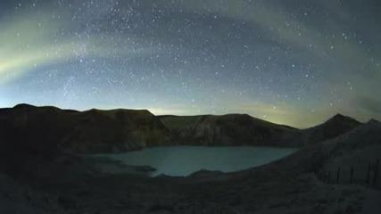 Звезди над вулкан