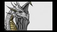 Bradens Dragon скоросттно рисуване