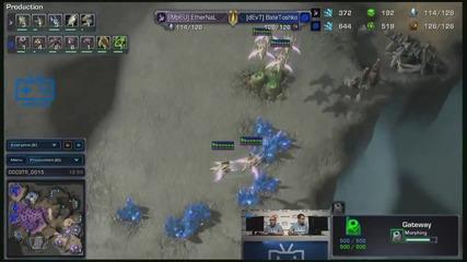 Afk Tv Финали на Eps - Sc2 Финал - Ethernal vs Batetoshko - игра 1