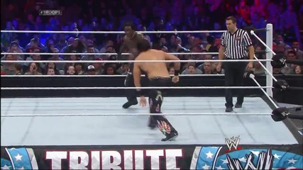 R-truth vs. Fandango- Tribute to the Troops 2013