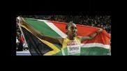 Caster Semenya златен медал на 800м.