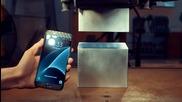 Смачкване на Samsung Galaxy S7 с 400-тонна хидравлична преса