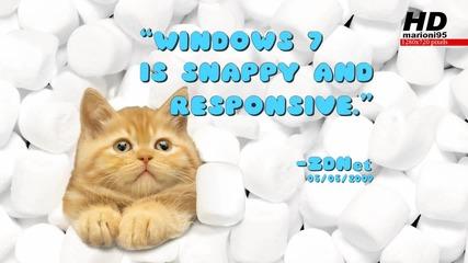 Windows 7 - Реклама - marioni95 Hd