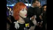 Hayley Williams Pca interview for Mtv