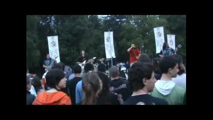 Rapehammer - (не)човешка Злоба (live)