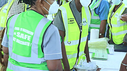 Nigeria: Healthcare workers receive first jabs of COVAX vaccine in Abuja