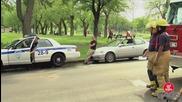 Смях! Полицай срещу пожарникари - скрита камера