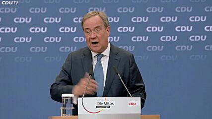 Germany: Laschet vows not to form govt if elected with left, right extremists