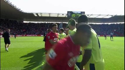 Southampton 4 - 1 Aston Villa