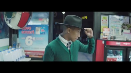 Pharrell Williams - Happy (официално Видео )