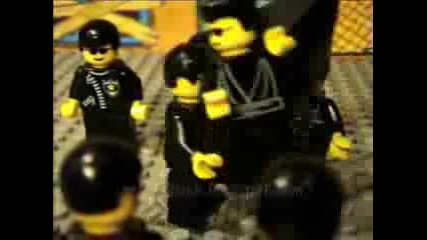 Lego Matrix Reloaded - Burly Brawl