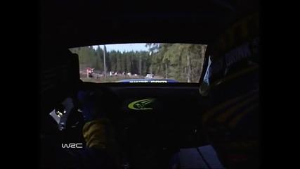 Непобедим рекорд ! Световен рали шампионат 2004 Рали Финландия- Ouninpohja (2)
