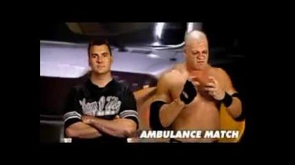 Kane Vs Shane Mcmahon мач с линейка
