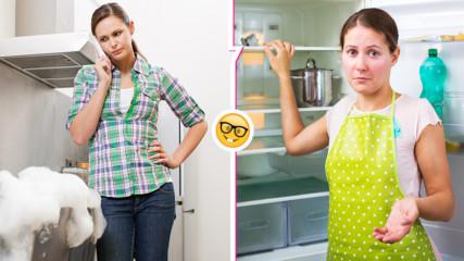 Проблеми в кухнята: как да ги решите веднага